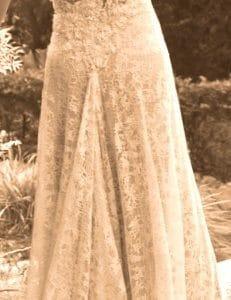 Timeless Vintage Wedding Dress