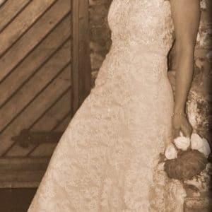Timeless Vintage Wedding Dress