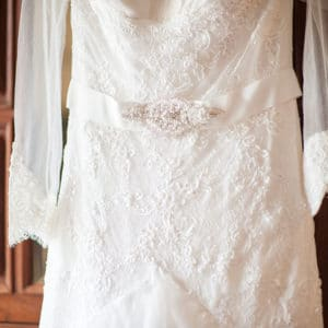 Imported Swan Wedding Dress – An aisle showstopper