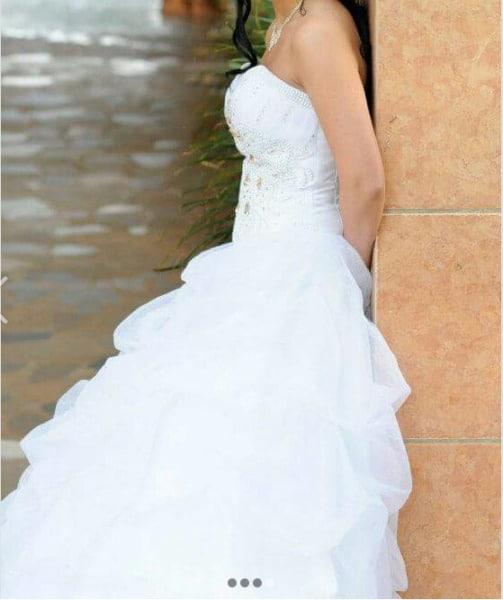 Eurobride Jewel Encrusted Princess Wedding Dress