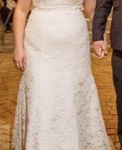 Beautiful Lace Trumpet Dress