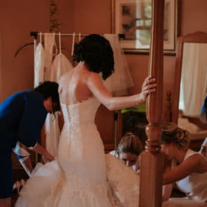 Beautiful Ivory Dakota Enzoani Wedding Dress