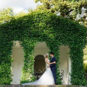 Beautiful beaded lace wedding gown- Wilhelmina Bracken