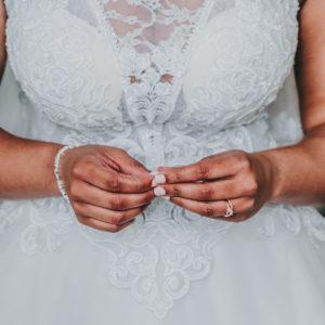 A-line Ballgown Tulle Wedding Dress