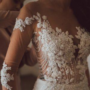 Kryzanta Wedding gown with Veil