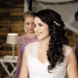 Feronia white wedding dress