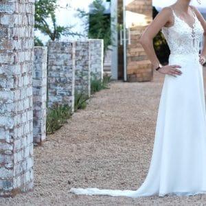 Cindy Bam Wedding dress