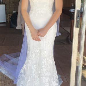 Enzoani Blue Dress