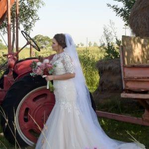 Helen Fontaine Wedding Dress